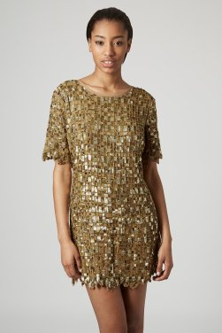 TopShop Limited Edition Cut-out Embellished Dress $500
