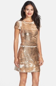 Vince Camuto Sequin Fit & Flare Dress $178