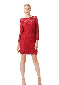 Adrianna Papell Petite Lace Dress $160